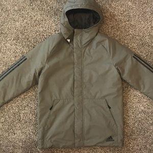 350fe485f654 adidas Jackets   Coats - Adidas XPLORIC 3-STRIPE Parka Jacket M